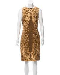 Michael Kors - Abstract Shift Dress - Lyst