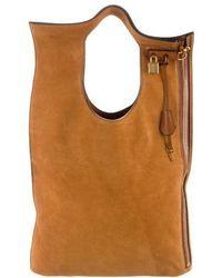 Tom Ford - Alix Fold-over Bag Cognac - Lyst