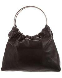 Little Liffner - Leather Handle Bag Black - Lyst