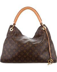Louis Vuitton - Monogram Artsy Mm Brown - Lyst