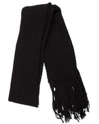 Helmut Lang - Wool & Cashmere-blend Scarf - Lyst