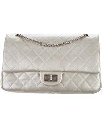 7c3cf711267c Lyst - Chanel 2.55 Reissue 227 Flap Bag Grey in Gray