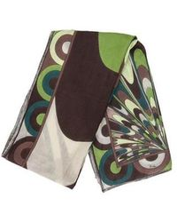 Emilio Pucci - Printed Woven Scarf - Lyst