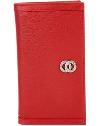 BVLGARI - Leather Notepad Cover - Lyst