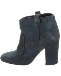 Laurence Dacade - Pete Calf Hair Distressed Ankle Boots - Lyst