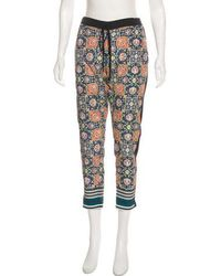 Clover Canyon - Printed Mid-rise Pants - Lyst