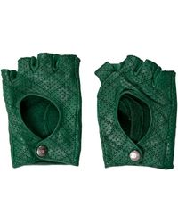 Chanel - Perforated Fingerless Gloves - Lyst
