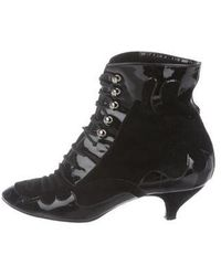 Repetto - Patent Leather Ankle Boots - Lyst