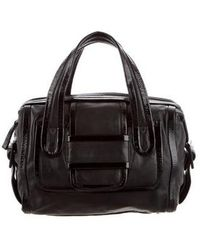 Pierre Hardy - Leather Handle Bag Black - Lyst