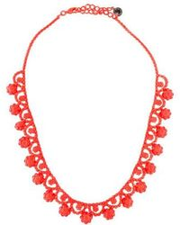 Tom Binns - Neo Neon Painted Collar Necklace - Lyst