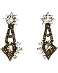 DANNIJO - Anisa Earrings Brass - Lyst