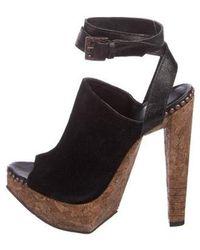 ae8a7a83ad6 Lyst - Stella Mccartney Black Other Sandals in Black