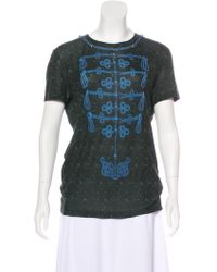 Louis Vuitton - Embellished Graphic T-shirt - Lyst