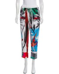 Clover Canyon - Printed Casual Pants - Lyst