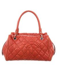 Chanel - Large Timeless Bowler Bag Silver - Lyst