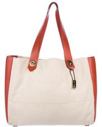 Loro Piana - Leather-trimmed Canvas Tote Gold - Lyst
