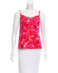 Thakoon - Printed Sleeveless Top - Lyst