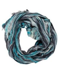Raquel Allegra - Printed Knit Scarf - Lyst