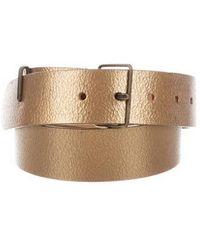 Dries Van Noten - Textured Belt - Lyst