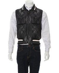 cd1bd4cad Lyst - Moncler Ghany Down Vest in White for Men