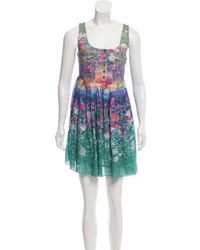 Timo Weiland - Printed Pleated Dress - Lyst