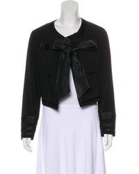 Viktor & Rolf - Satin-trimmed Casual Jacket W/ Tags - Lyst