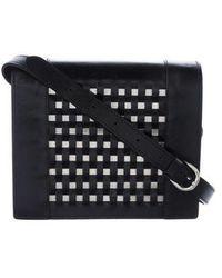 Jean Paul Gaultier - Woven Shoulder Bag Black - Lyst