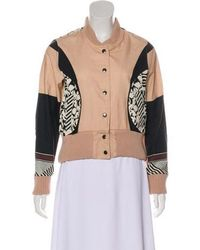 SUNO - Printed Bomber Jacket W/ Tags - Lyst