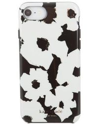 Kate Spade - Floral Iphone Case W/ Tags Black - Lyst