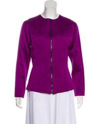 Icb - Casual Silk Jacket - Lyst