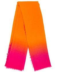Bottega Veneta - Wool Bi-color Scarf - Lyst