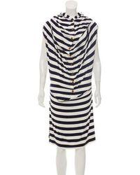 Vivienne Westwood Red Label - Hooded Striped Dress - Lyst