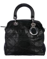 Dior - Cannage Granville Bag Black - Lyst