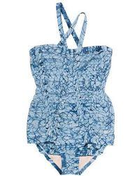 Hervé Léger - Bandage One-piece Swimsuit W/ Tags - Lyst