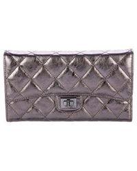 Chanel - Reissue Trifold Wallet - Lyst