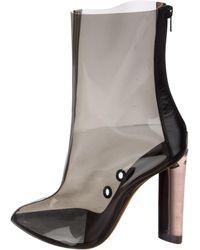 df00e1f2bdd Yeezy - Season 3 Pvc Ankle Boots - Lyst