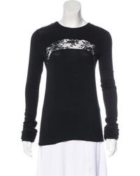 Givenchy - Long Sleeve Top - Lyst