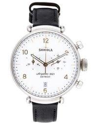 Shinola - The Canfield Watch - Lyst