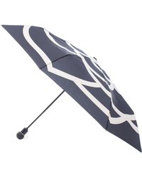 Chanel - Camellia Printed Umbrella Black - Lyst