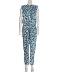 Banjanan - Floral Short Sleeve Jumpsuit - Lyst