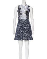 Michael van der Ham - Embroidered Silk Dress - Lyst