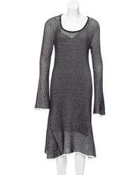 Derek Lam - Open Knit Midi Dress W/ Tags - Lyst