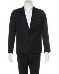 Dior Homme - Striped Wool Blazer - Lyst