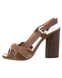 Maison Margiela - Multistrap Slingback Sandals W/ Tags - Lyst
