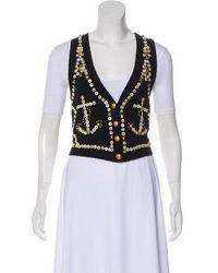 Temperley London - Embellished Knit Vest - Lyst