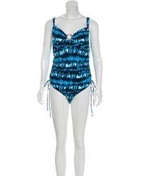 MICHAEL Michael Kors - Michael Kors Printed One-piece Swimsuit W/ Tags - Lyst