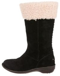 UGG - Suede Mid-calf Boots - Lyst