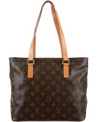Louis Vuitton - Monogram Cabas Piano Tote Brown - Lyst