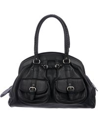 Dior - Grained Leather Tote Black - Lyst