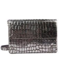 Alice + Olivia - Embossed Leather Bag - Lyst